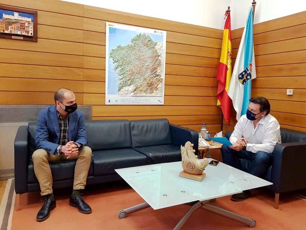 Daniel Santos Canelles y Antonio Rodríguez Miranda.