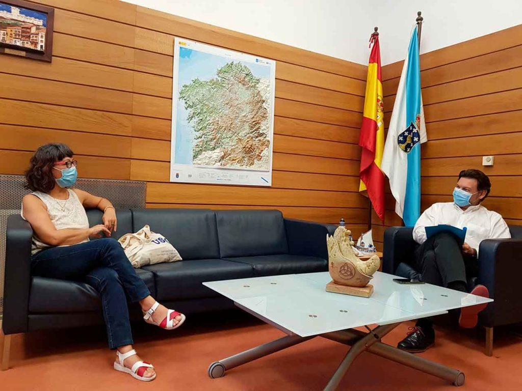 Arantxa Fernández Crespo y Antonio Rodríguez Miranda.
