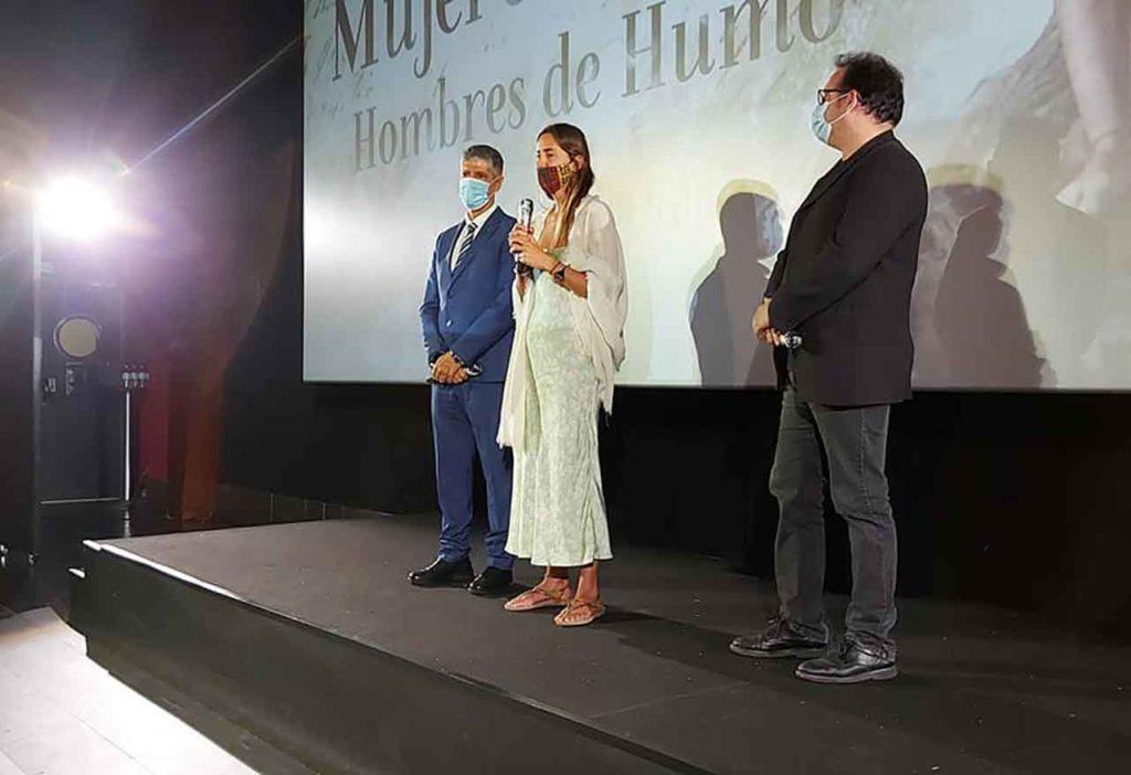 Manuel Rodríguez Santana, Iris Carballo y Manuel Díaz.
