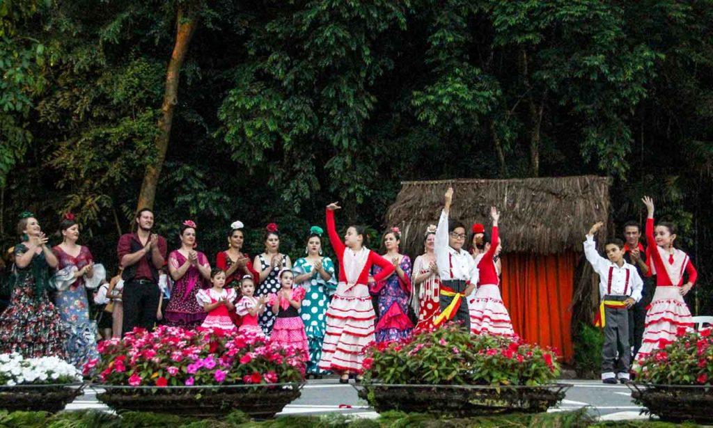 Actividad de la Casa de Andalucía de Curitiba, en Brasil.