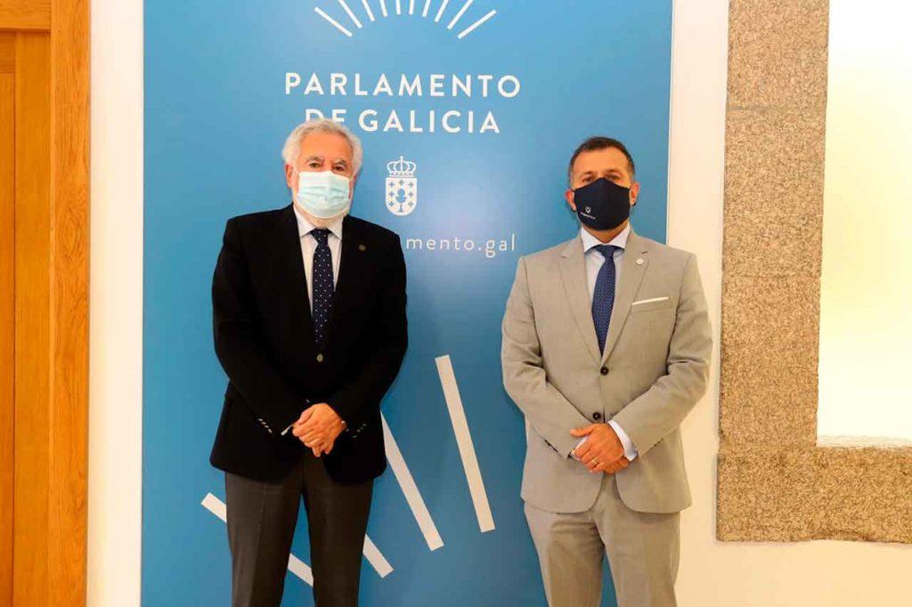 Miguel Ángel Santalices y Ramiro Rodríguez Bausero.