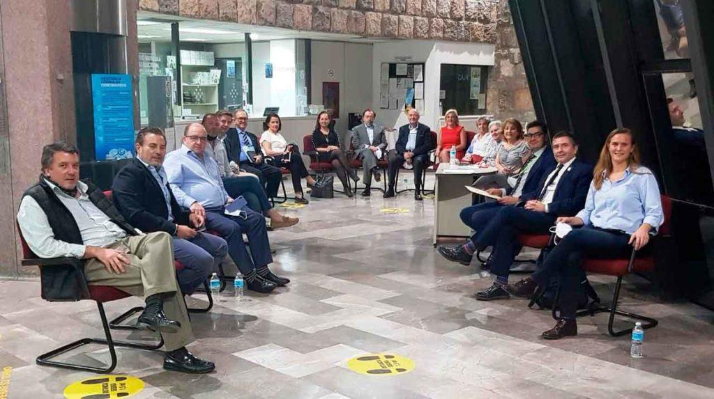Primera reunión del CRE de Ciudad de México.