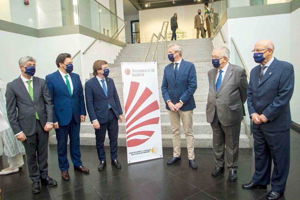 Ildefonso de la Campa, Antonio Rodríguez Miranda, José Luis Martínez Almeida, Alfonso Rueda y Juan José González Rivas.