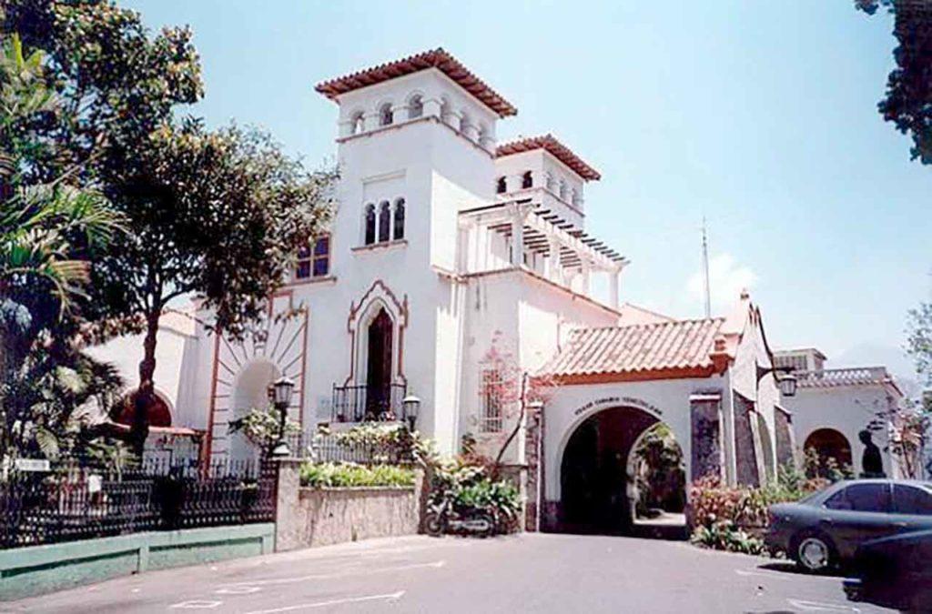 Sede del Hogar Canario Venezolano de Caracas.