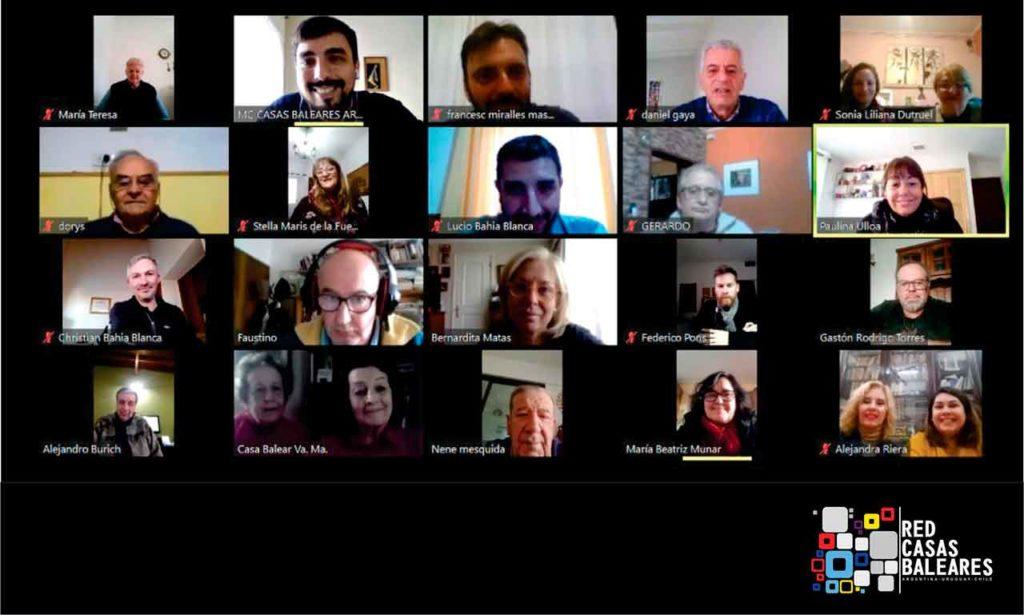 Algunos de los participantes en el encuentro.