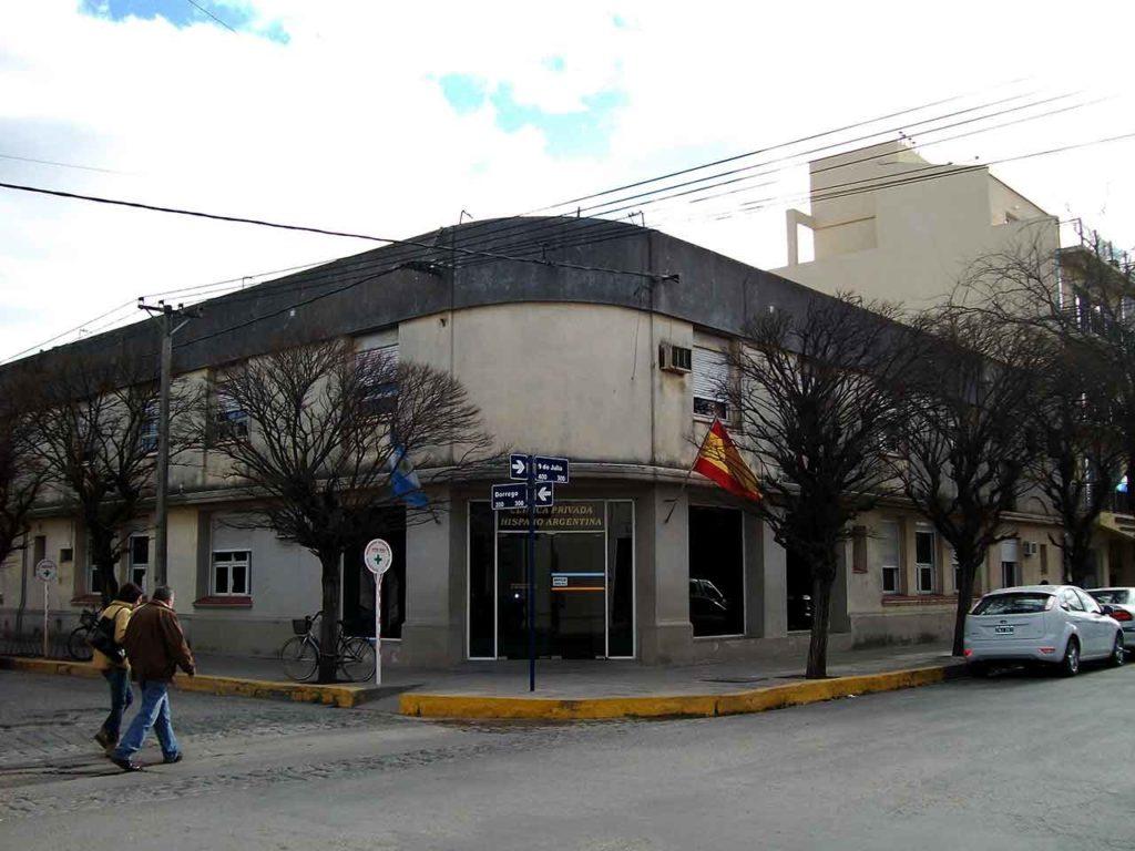 Clínica Hispano Argentina de Tres Arroyos.