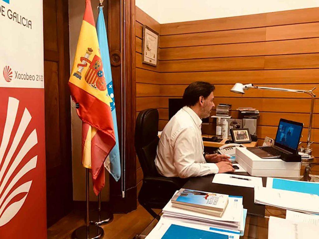 Reunión del secretario xeral da Emigración con las entidades del exterior.