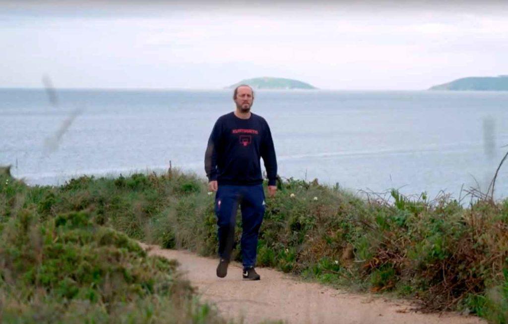 Andrés Rodiño retornó de Escocia y puso en marcha una empresa turística en Portonovo.
