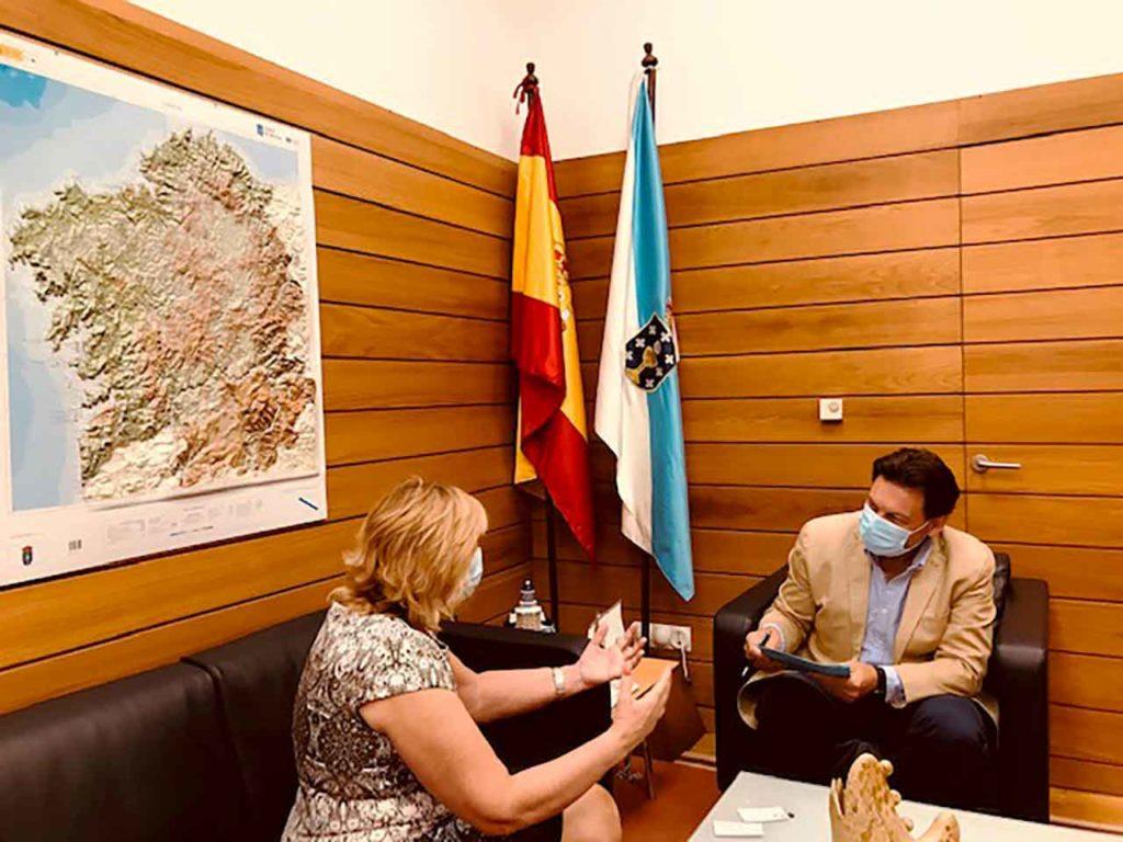 María Gil Pereira y Antonio Rodríguez Miranda.