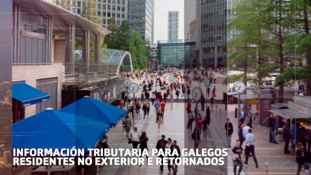 El nuevo apartado en la web Galiciaaberta ofrece información tributaria para los gallegos en el exterior.
