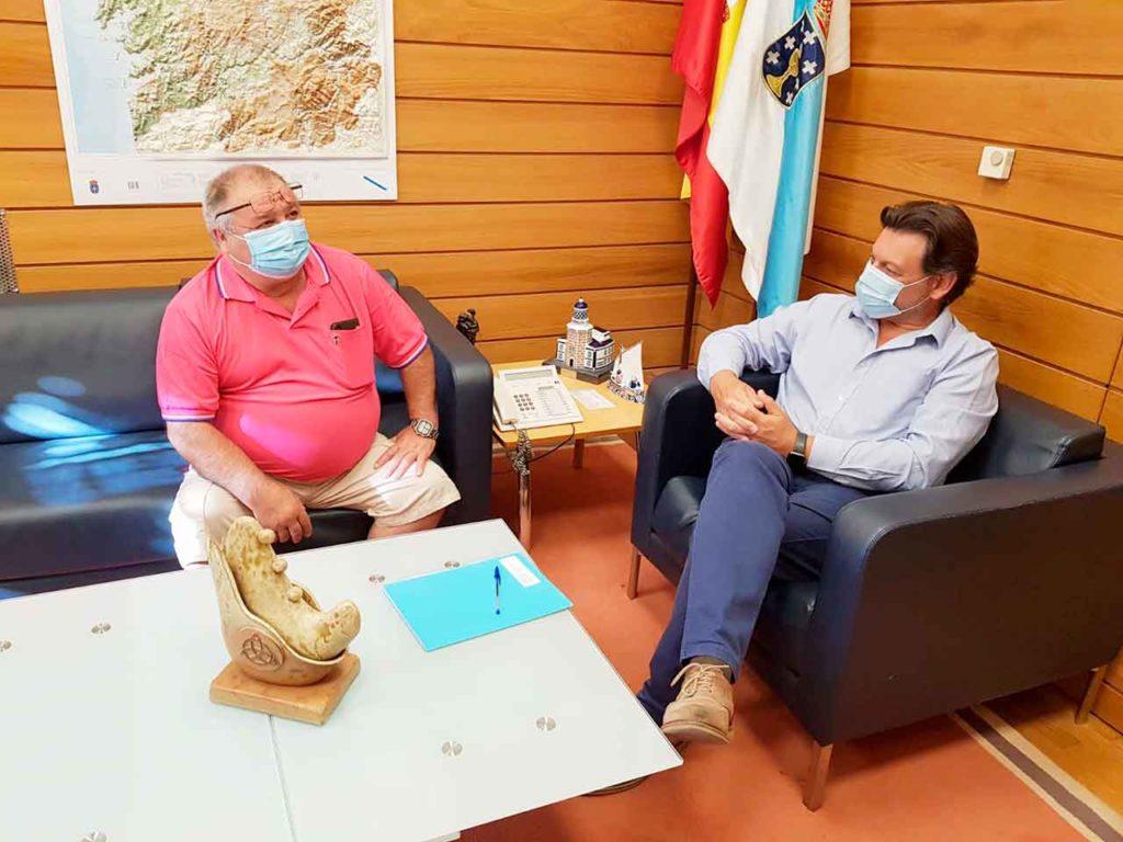 Albino Abal y Antonio Rodríguez Miranda.