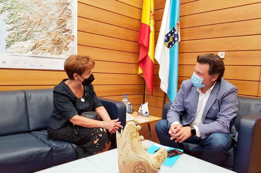 Jovita Fernández y Antonio Rodríguez Miranda.