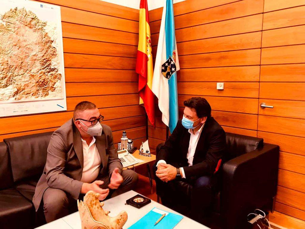 José Luis Penedo y Antonio Rodríguez Miranda.