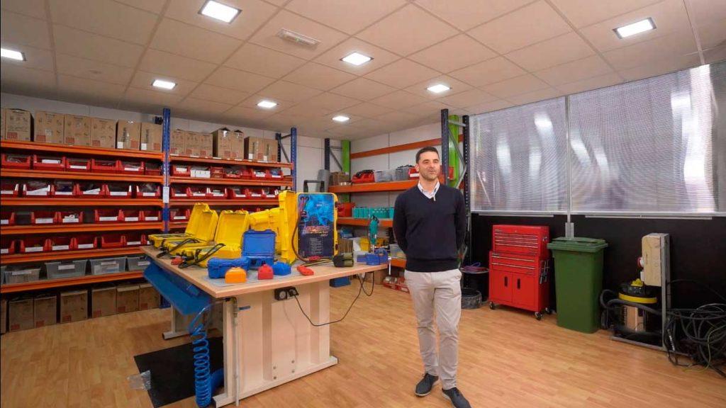 Alberto Jurjo tiene una empresa de baterías con ultracapacitadores para aparatos de aviación, Enercraft, situada en Sanxenxo.