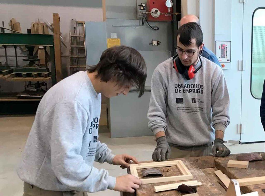 El programa de talleres duales de empleo es una de las cerca de sesenta medidas que integran la Estratexia Galicia Retorna de la Xunta de Galicia.