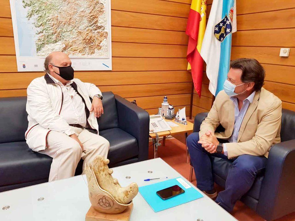 Álvaro Moreira Muíños y Antonio Rodríguez Miranda.