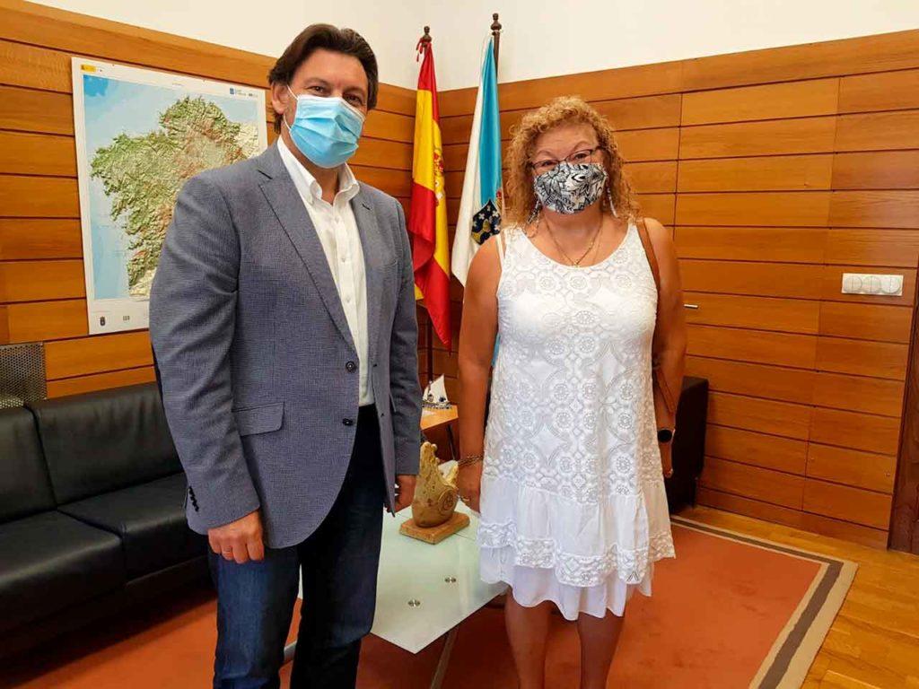 Antonio Rodríguez Miranda y María Jesús de la Fuente.