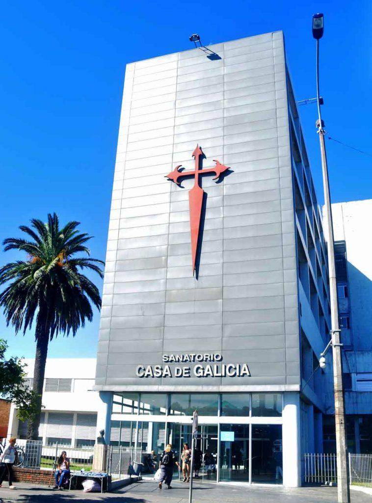 Sanatorio de Casa de Galicia en Montevideo.
