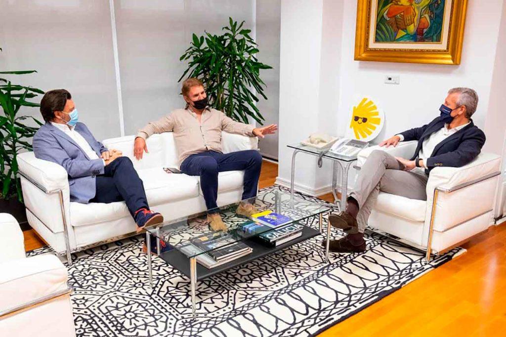 Rodríguez Miranda, Brandariz y Alfonso Rueda.