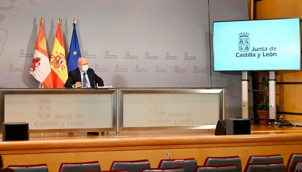 El vicepresidente Francisco Igea informó de los acuerdos del Consejo de Gobierno.