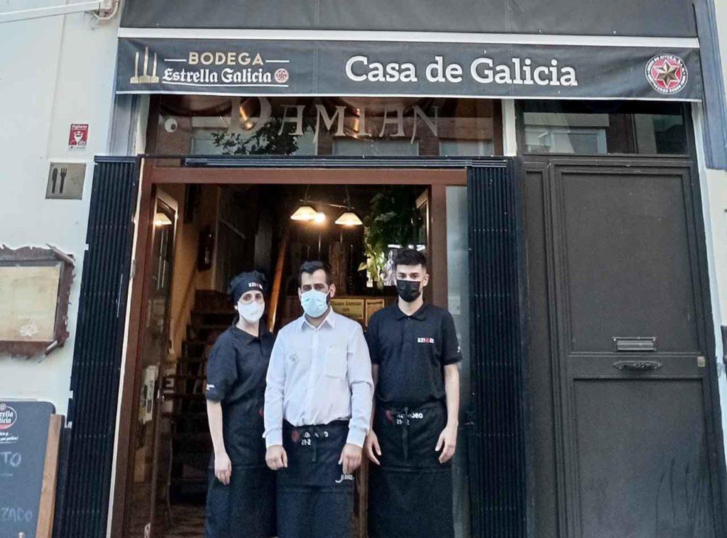 Casa de Galicia de Badajoz.