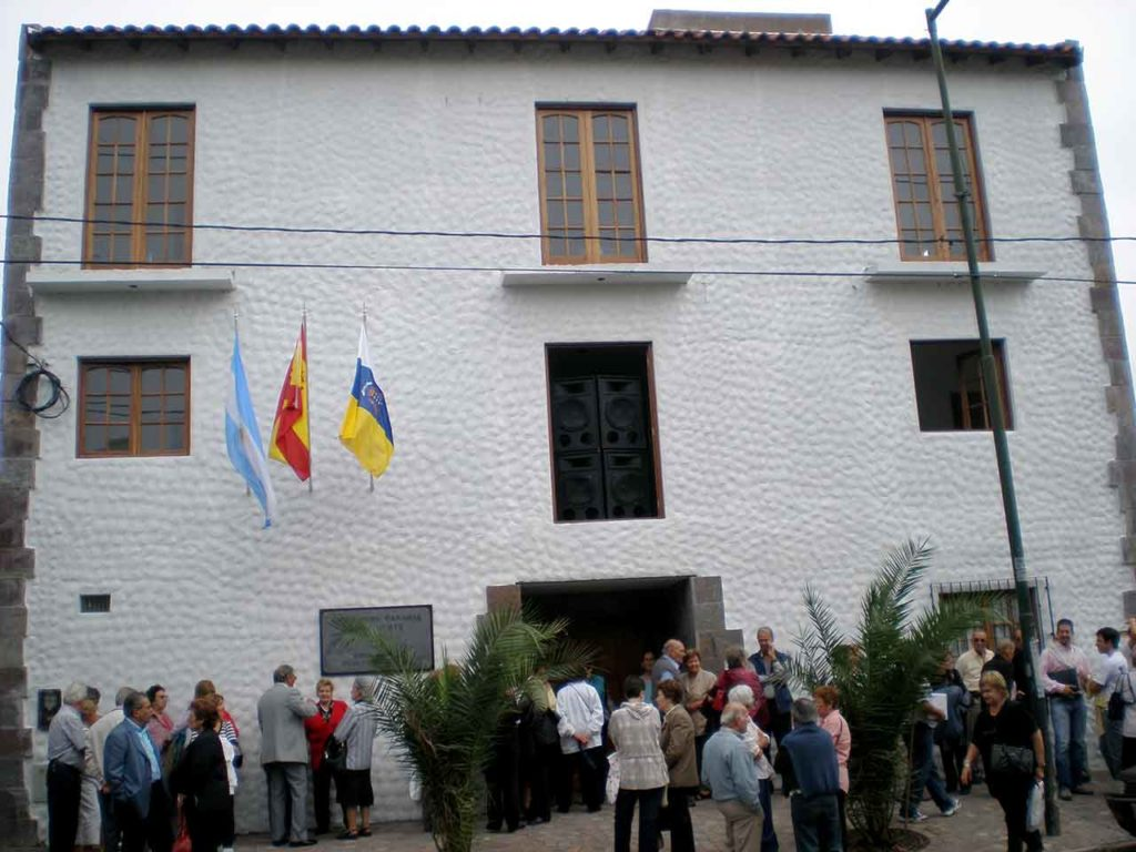 Sede de la Asociación Canaria Zona Norte en Buenos Aires.