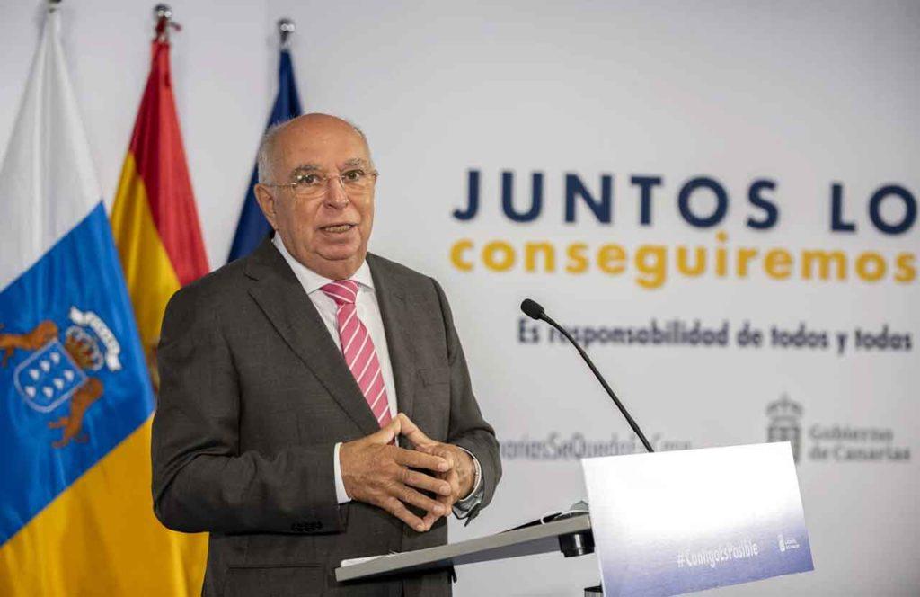 uan Francisco Trujillo, director general de Relaciones Exteriores del Gobierno de Canarias.