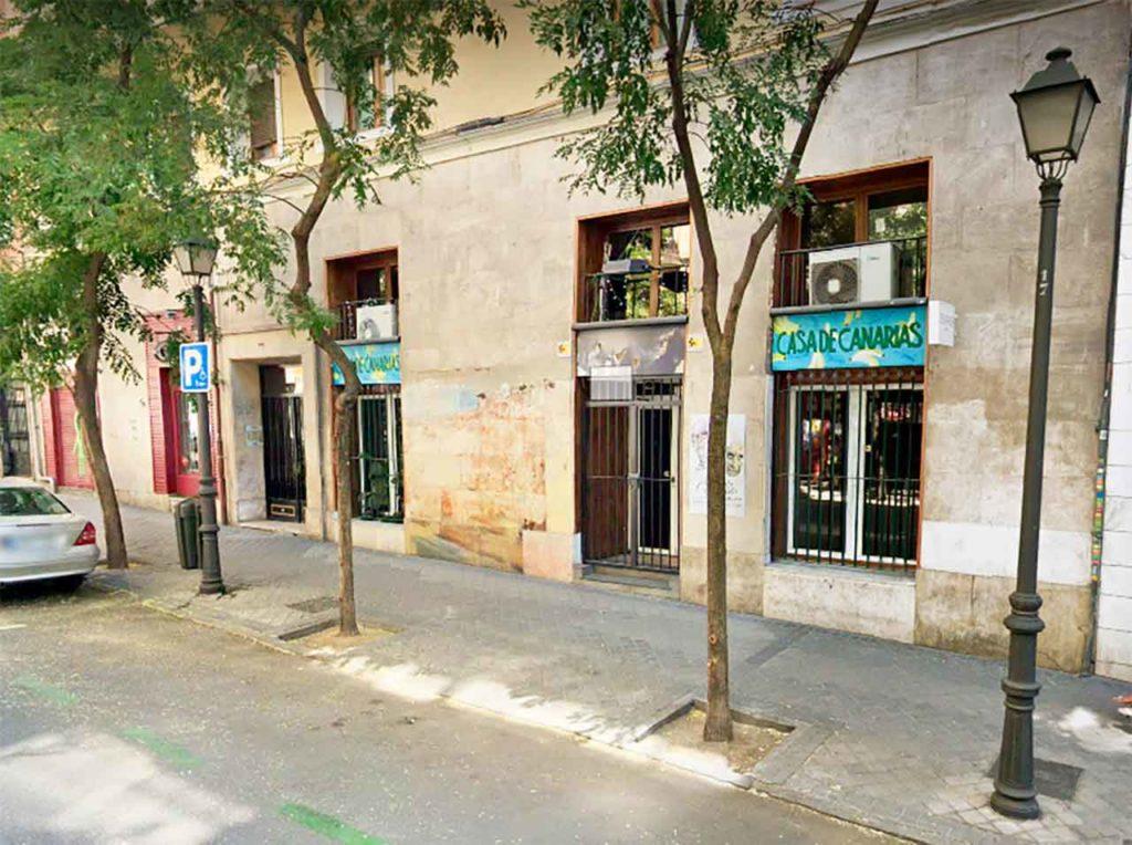 Sede de la Casa de Canarias en Madrid.