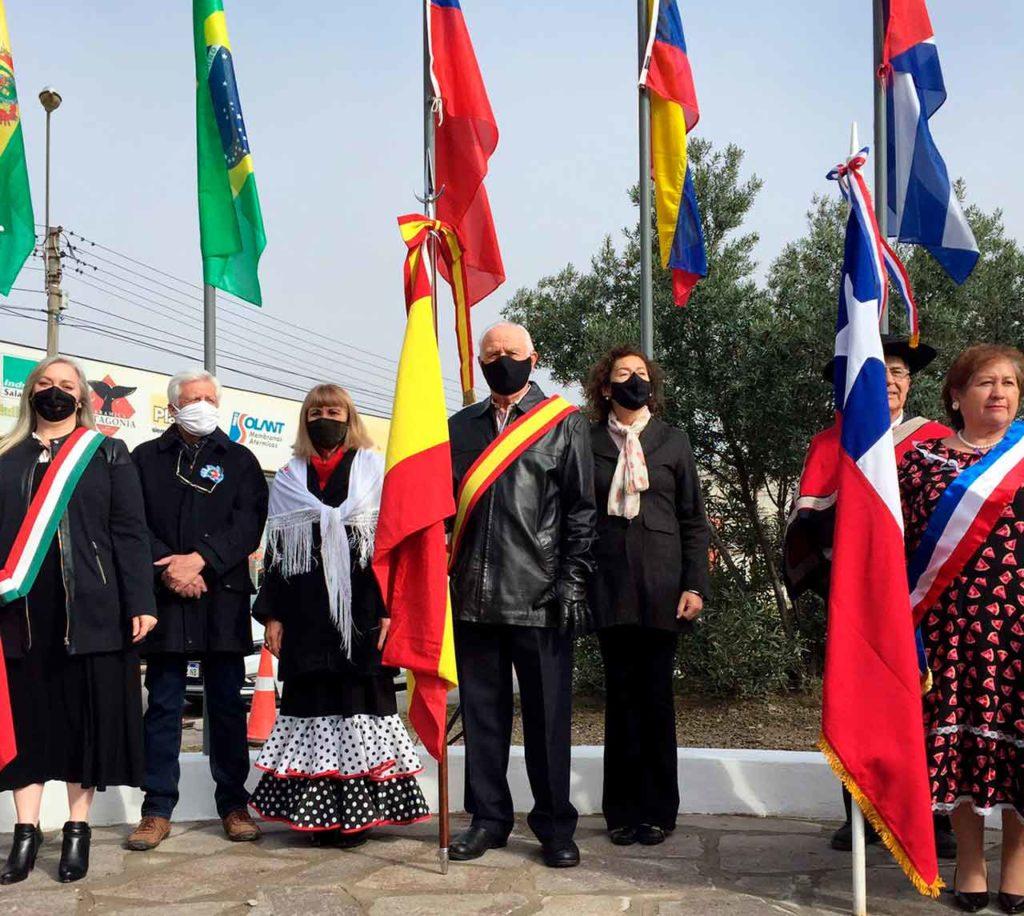 Representación española en Puerto Madryn.