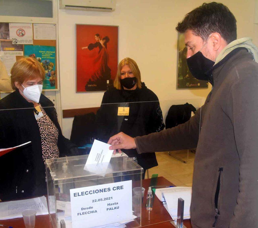 Votación para elegir el CRE de Montevideo realizada el pasado 22 de mayo.