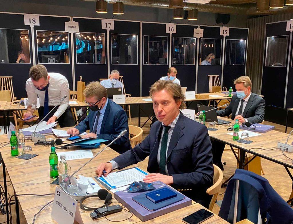 Jesús Gamallo participó en la Mesa del Comité Europeo de las Regiones (CdR).