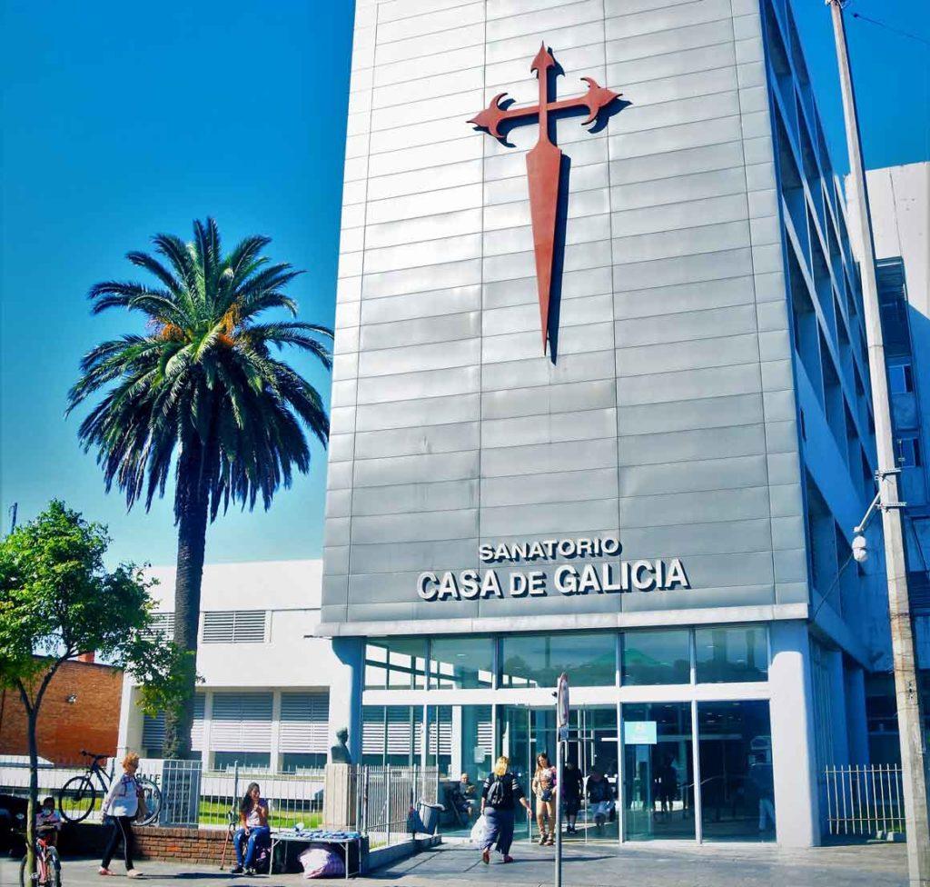 Hospital de Casa de Galicia de Montevideo.