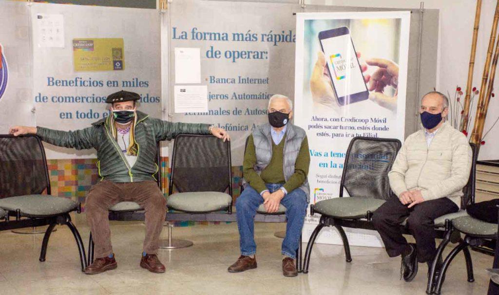 Representantes de la Sociedad Española y de la Comunidad Vasca.